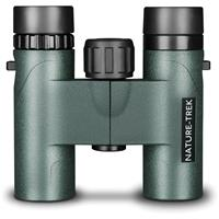 Image of Hawke Sport Optics 10x25 Nature-Trek Compact Water Proof Roof Prism Binocular with 5.5 Degree Angle of View, Green