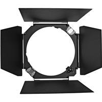 Hensel 4 Leaf Barndoor with Filter Holder. Product image - 115