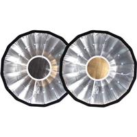Hensel Bounce Disc for Grand Mini 85 Softbox, Silver/Gold