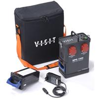 Hensel Visit MPG 1500 Mobile Power Generator Kit, (115 volts) with Battery, AC Charger, Extra Lead A Product image - 258