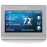 Image of Honeywell Wi-Fi 7-Day Programmable Touchscreen Smart Thermostat, White