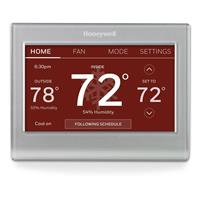 Image of Honeywell Wi-Fi 7 Day Programmable Smart Color Thermostat, White