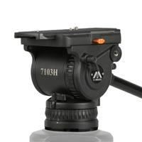 Image of Ikan E-Image 100mm Heavy Duty Fluid Video Head with Camera Plate