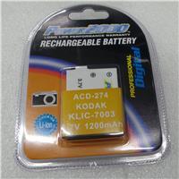 Adorama Adorama KLIC7003 Lithium-Ion Rechargeable Battery for Kodak Digital Cameras,3.7V1000mAH