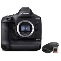 Canon EOS-1D X Mark III DSLR Camera Body with CFexpress Card & Reader Bundle Kit