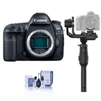 Canon EOS 5D Mark IV DSLR Body - With DJI Ronin-S Essentials Kit, Cleaning Kit
