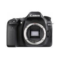Canon Canon EOS 80D DSLR Camera Body, Black