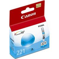 Canon CLI-221C Cyan Color Ink Tank for Pixma Inkjet Printers