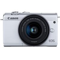Canon EOS M200 Mirrorless Camera with EF-M 15-45mm f/3.5-6.3 IS STM Lens, White