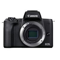 Canon EOS M50 Mark II Mirrorless Camera, Black