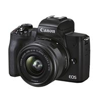 Canon EOS M50 Mark II Mirrorless Camera with EF-M 15-45mm f/3.5-6.3 IS STM Lens, Black
