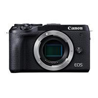 Canon EOS M6 Mark II Mirrorless Digital Camera Body, Black