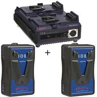 IDX Endura 10 Lithium-Ion Starter Kit with One VL-2Plus Charger, Two E-10 Endura Batteries Product picture - 170