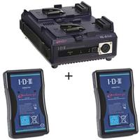 IDX Endura 7S Lithium-Ion Starter Kit with One VL-2Plus Charger, Two 14.8v Endura E-7S 71Wh Lithium- Product picture - 170