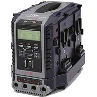 IDX Multi-format 8-Channel (4+4) Simultaneous V-Mount Li-Ion Fast Charger with LCD Display and C-VAL Product image - 209