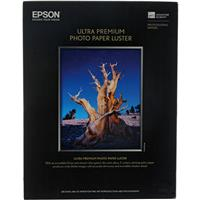 """Epson Ultra Premium Luster, Resin Coated Photo Inkjet Paper, 10 mil., 13x19"""", 100 Sheets Product image - 630"""