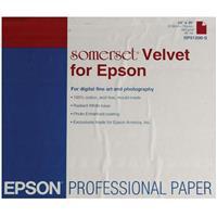 """Epson Somerset Velvet Fine Art Matte Inkjet Paper, 36 mil., 505 gsm., 24x30"""", 20 Sheets. Product image - 613"""