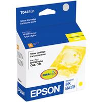 Epson Yellow Ink Cartridge for the Stylus CX4600, Stylus CX6400 and Stylus CX6600 All-in-One Printers and Stylus C64, Stylus C66, Stylus C84, Stylus C84N Stylus C84WN and Stylus C86 Inkjet Printers