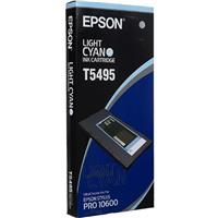 Epson Light Cyan UltraChrome Ink Cartridge for the Stylus Pro 10600 Wide-Format Inkjet Printer. Product image - 437