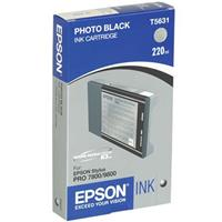 Epson Photo Black UltraChrome K3 Ink Cartridge for the Stylus Pro 7800 and 9800 Inkjet Printers, 220 Product image - 1121