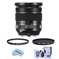 Image of Fujifilm XF 16-80mm F4.0 R OIS WR (Weather Resistant) Lens U.S.A. Warranty - Bundle With Hoya NXT Plus 72mm 10-Layer HMC UV Filter, HOYA 72mm NXT Circular Polarizer Filter, Cleaning Kit, Microfiber Cloth
