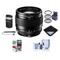 Image of Fujifilm XF 23mm (35mm) F/1.4R Lens - Bundle with 62mm Filter Kit, Lens Wrap, Lens Case, Cleaning Kit, Capleash and Professional Software Package