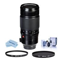 Image of Fujifilm XF 50-140mm (76-213mm) F2.8 R LM OIS WR (Weather Resistant) Lens - Bundle With Hoya NXT Plus 72mm 10-Layer HMC UV Filter, HOYA 72mm NXT Circular Polarizer Filter, Cleaning Kit, Microfiber Cloth