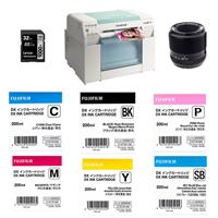 Fujifilm Frontier-S DX100 Inkjet Printer - Full Event Solution with Fuji X-F 60mm F/2.4 Macro Lens, 32GB Memory Card, Fuji DX Ink Cartridge 200ML Black/Cyan/Magenta/Yellow/SkyBlue/Pink