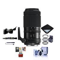 Image of Fujifilm GF 100-200mm f/5.6 R LM OIS WR Zoom Lens - Bundle With 67mm Filter Kit, Flex Lens Shade, Lens Wrap, Lens Pen Cleaner, Lens Cap Leash, Cleaning Kit, Mac Software Package