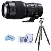 Image of Fujifilm GF 250mm f/4 R LM OIS WR Lens, Bundlle with Vanguard VEO 2 Aluminum Tripod