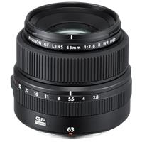 Image of Fujifilm Fujifilm FUJINON GF 63mm F/2.8 R WR Lens for GFX Medium Format System