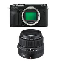 Fujifilm GFX 50R Medium Format Mirrorless Camera (Body Only) - with Fujifilm FUJINON GF 63mm F/2.8 R WR Lens