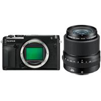 Fujifilm GFX 50R Medium Format Mirrorless Camera (Body Only) - With Fujifilm FUJINON GF 45mm F/2.8 R WR Lens