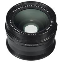 Image of Fujifilm WCL-X100 II Wide Conversion Lens for X100F Camera, Black