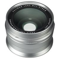 Image of Fujifilm WCL-X100 II Wide Conversion Lens for X100F Camera, Silver