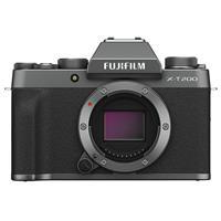 Fujifilm X-T200 Mirrorless Digital Camera Body - Dark Silver