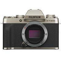 Fujifilm X-T200 Mirrorless Digital Camera Body - Champagne Gold