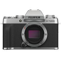 Fujifilm X-T200 Mirrorless Digital Camera Body - Silver