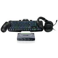 Image of IOGEAR KeyMander 2 Complete Gaming Bundle with HVER Gaming Keyboard, KORONA Gaming Mouse & NUKLEUS Gaming Headphones