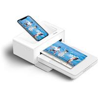 Image of iHome Photo Printer with Smartphone Dock, White