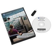 Image of HP DesignJet PostScript and PDF Upgrade Kit for T7200, Z6200 and Z6800 Production Printer, CD