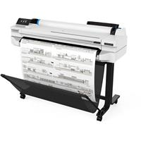 """HP DesignJet T530 Large Format Wireless Plotter Printer - 36"""", with Mobile Printing (5ZY62A)"""