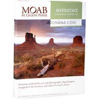 """Legion Somerset Photo Enhanced, Radiant White Matte Velvet Inkjet Paper, 15 mil., 17x22"""", 25 Sh Product image - 535"""