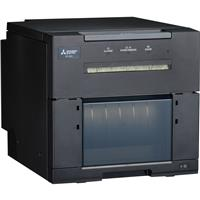Image of Mitsubishi CP-M1A A6 Digital Color High-Capacity Dye Sublimation Thermal Transfer Sub Photo Booth Printer