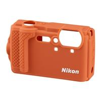 Compare Prices Of  Nikon CF-CP3 Silicone Jacket (Orange) for Coolpix W300