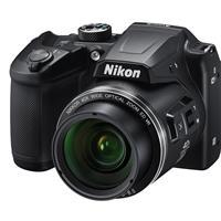 Image of Nikon Coolpix B500 Digital Point & Shoot Camera, Black