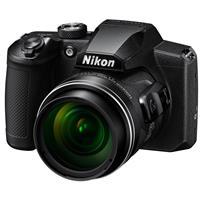 Image of Nikon COOLPIX B600 16MP Compact Digital Point & Shoot Camera, 60x Optical Zoom, Black