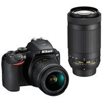 Nikon D3500 24MP DSLR Camera with AF-P DX NIKKOR 18-55mm f/3.5-5.6G VR Lens and AF-P DX NIKKOR 70-300mm f/4.5-6.3G ED Lens
