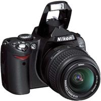 Nikon D40 6.1 Megapixel Digital SLR Camera 3X Zoom Kit Outfit, with 18-55mm f/3.5-5.6G ED II AF-S DX Product image - 505