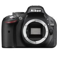 Image of Nikon Nikon D5200 24.1 Megapixel DX-Format Digital SLR Camera Body Black